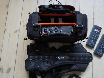 Udlejer: Sound Devices 633 med taske, harness og batteripakke