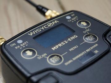 Udlejer: Wisycom MPR52-ENG og to sendere med DPA'er