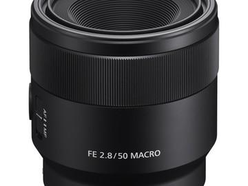 Udlejer: Sony 50mm 2.8 Macro