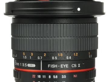 Udlejer: Samyang 8mm f1.5 - Fisheye