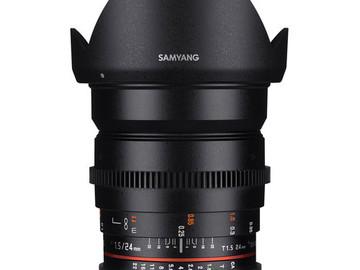 Udlejer: Samyang 24mm f1.5