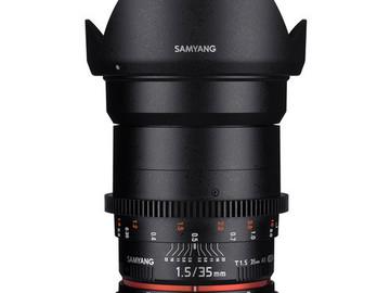 Udlejer: Samyang 35mm f1.5
