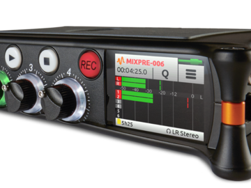 Vermieter: Sound Devices MixPre-6 lydoptager