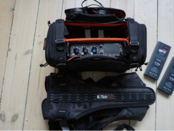 Udlejer: Sound Devices 633 + 2x Wisycom + boomsæt (stor pakke)