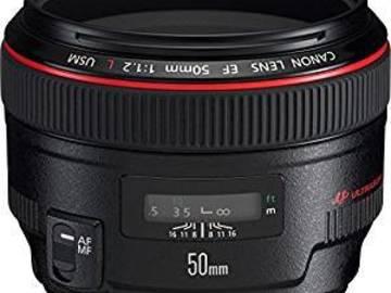 Udlejer: Lej vores Canon 50mm f1.2 objektiv L-serie