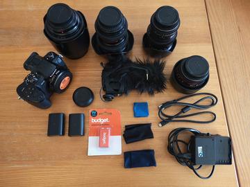 Lender: Panasonic GH5 MEDIUM pakke (Speedbooster/EF optiker)