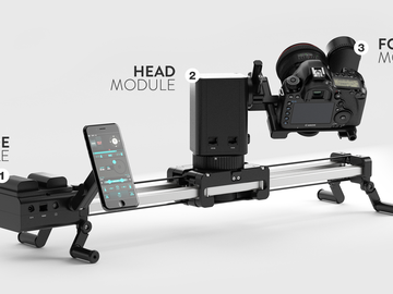 Udlejer: Edelkrone SliderPlus PRO Motion kit