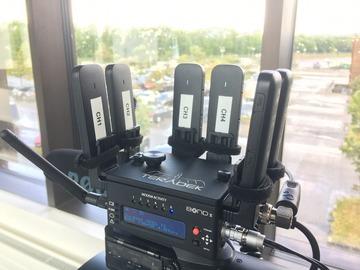 Lender: Mobil 4G videosender og modtager (broadcast SIM)