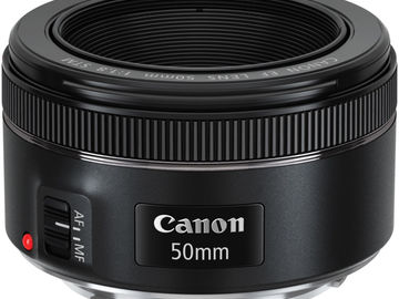 Udlejer: Canon 50 mm f 1.8 STM (nifty fifty)