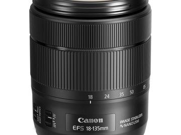 Udlejer: Canon EF-S 18-135mm f/3.5-5.6 IS USM