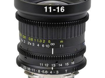 Udlejer: Tokina 11-16mm T3.0 PL Mount