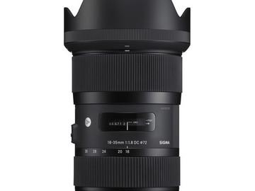Udlejer: Sigma Art 18-35mm f/1.8 Nikon