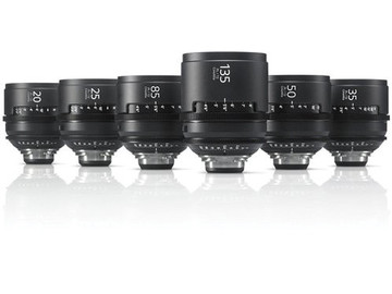Udlejer: Sony CineAlta 4K Prime Lens Kit