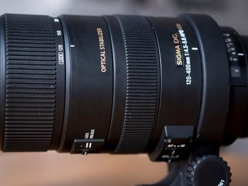 Verhuurder: Sigma 120-400mm f/4.5-5.6 DG OS HSM APO
