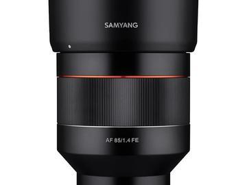 Udlejer: Samyang AF 85mm f/1.4 Sony FE KBH/Næstved