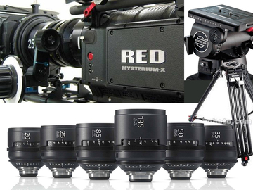 Udlejer: RED ONE MX complete Camera package