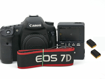Udlejer: Canon 7D body