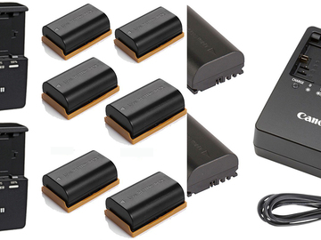 Udlejer: Canon LP-E6  battery package (6 batteries)