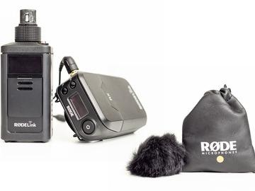 Udlejer: Røde RødeLink Newsshooter Kit + Røde SmartLav