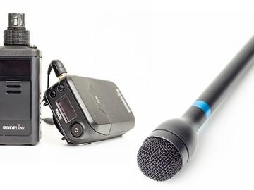 Udlejer: Røde RødeLink Newsshooter Kit + BOYA Håndholdt mic