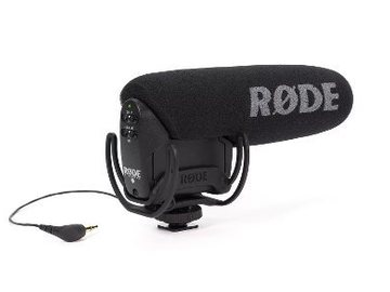 Udlejer: RØDE VIDEOMIC PRO WITH RYCOTE HANGING WITH DEADCAT