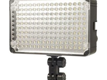 Udlejer: Aputure LED Video Light H198C with shoe mount