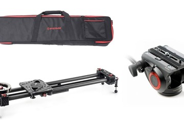 Udlejer: iFootage Shark Slider med Manfrotto Fluid Head