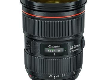 Udlejer: Canon 24-70MM F,28 II USM