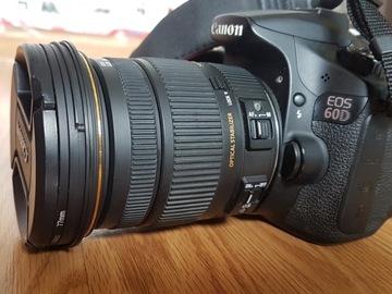 Udlejer: Canon 60D inkl. Sigma 17-50mm f/2.8 EX DC OS HSM