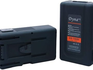 Udlejer: Dynacore DS150 V-lock batt - buildin charger