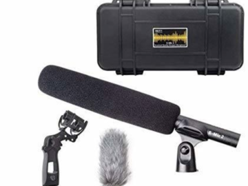 Udlejer: S-mic 2 Location kit - C-stand med Boom arm - Sandsæk