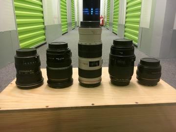 Udlejer: Canon optik pakke