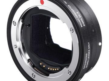 Udlejer: Sigma MC-11 (sigma mc-11 eos til e-mount)