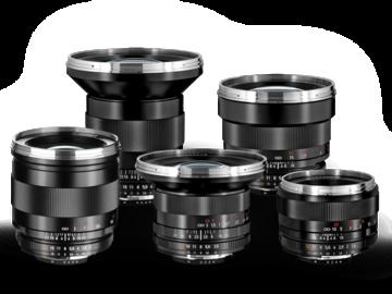 Udlejer: Zeiss 18, 25, 35, 50, 85mm ZF.2 (Nikon Mount) Prime package