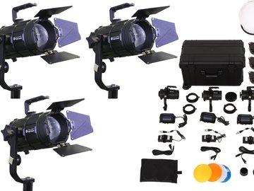 Udlejer: Pocket Cannon Fresnel kit