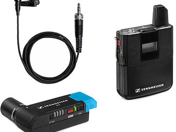 Udlejer: SENNHEISER AVX MICROPORT KIT, MIC+TRANSM+RECEIVE