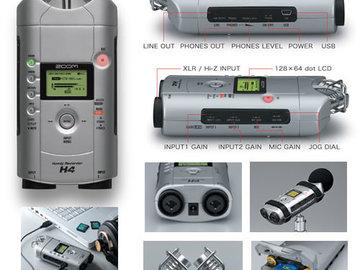 Udlejer: Zoom H4 Handy Recorder