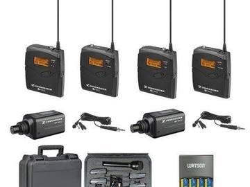 Udlejer: 2x Sennheiser ew 100 G2 wireless Micro Ports  Wireless micro