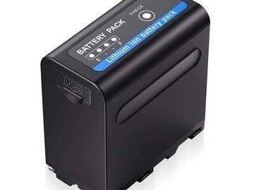 Udlejer: NP-F970 batteri standard til monitor/lys/Bmpcc4k