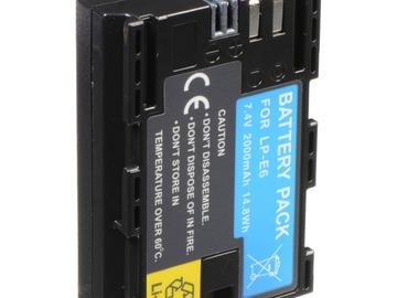 Udlejer: LPe6 Batterier x4 + oplader