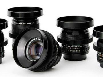 Udlejer: Canon FD Prime Lens Kit