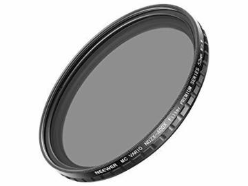 Lender: 52mm Variable ND Filter (ND2-400)