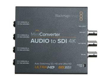Lender: Blackmagic Mini Converter Audio to SDI 4K