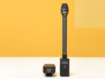 Udlejer: RODE RodeLink Reporter (handheld radio microphone)