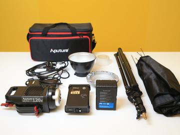 Udlejer: Aputure 120D - Video Light (Interviews)