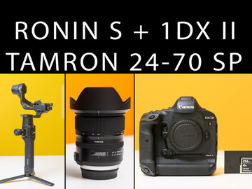 Udlejer: Canon 1dx MK II + Ronin S + Tamron 24-70 + 256GB CFast Card