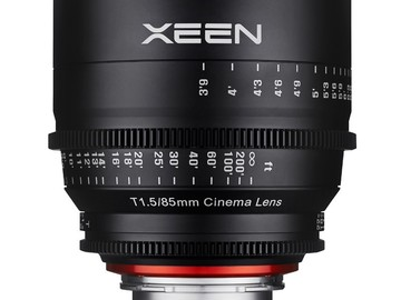 Udlejer: Xeen 85mm T/1.5 EF