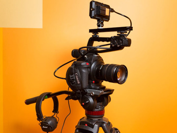 Udlejer: Canon C100 mkii FULL KIT