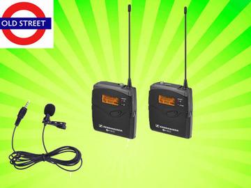 Udlejer: Sennheiser EW 100 G3 Radio Mic Set