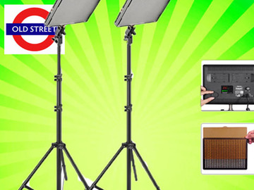 Udlejer: LED Lighting Kit: Aputure Amaran 528 - 2-Light/Stand